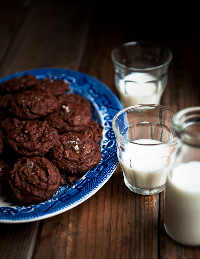 expresso chocolate cookies